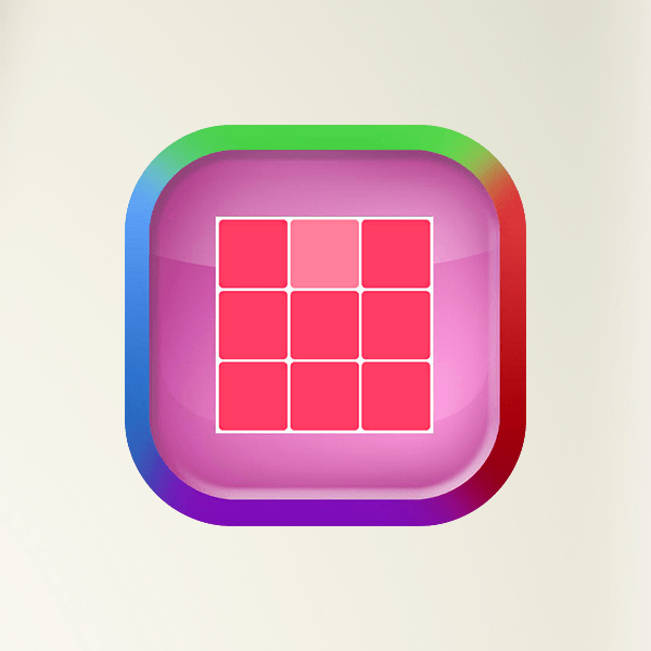 Eye Test - Check Your Vision, Kuku Cube Color Tiles