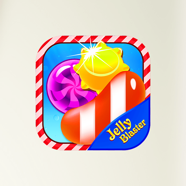 Jelly Blaster : Match 3 jewel candy burst puzzle game