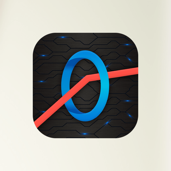 Swing Ring - Sway the bouncing wheel in zigzag stick line games